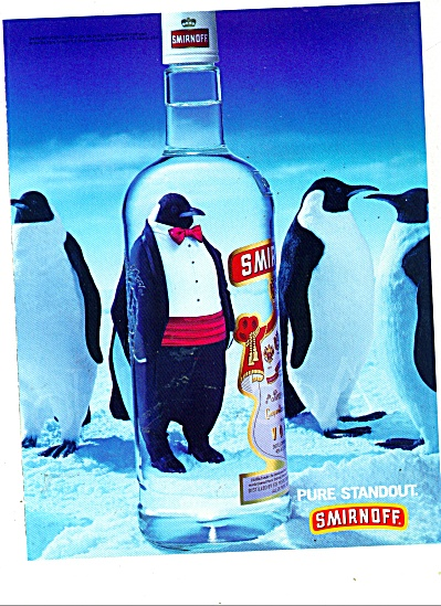 Smirnoff Vodka ad (Penguins) 1999 (Image1)