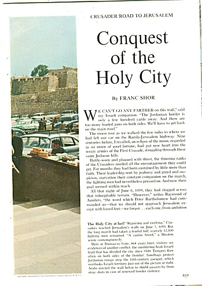 Conquest of the Holy City story 1963 (Image1)