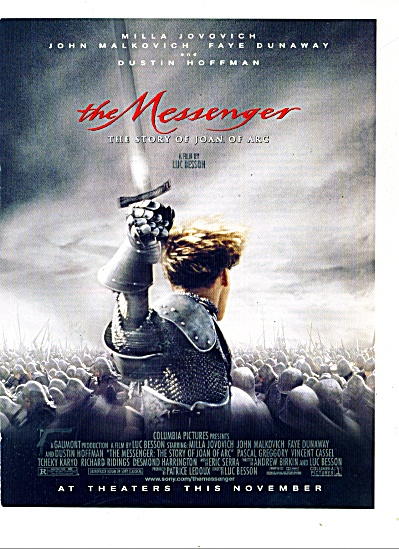 Movie:  THE MESSENGER  -Story of Joan of Arc (Image1)