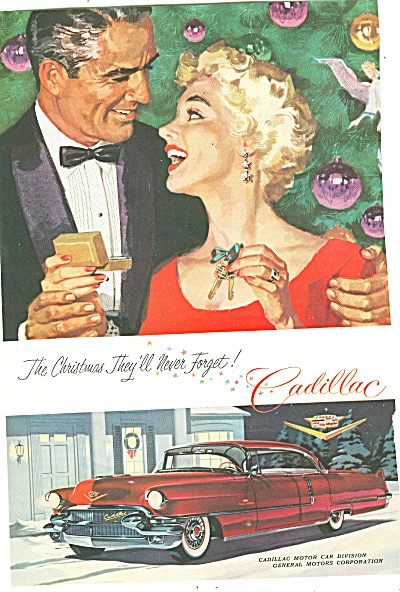 Cadillac auto for 1956 ad (Image1)