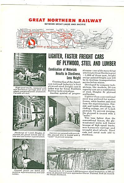 great Northern railway ad 1944 (Image1)