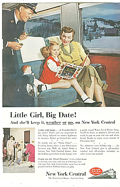 New York Central Ad 1952