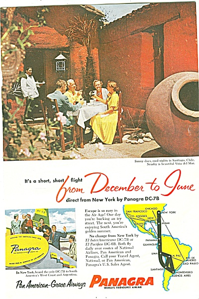Panagra airline ad 1955 (Image1)