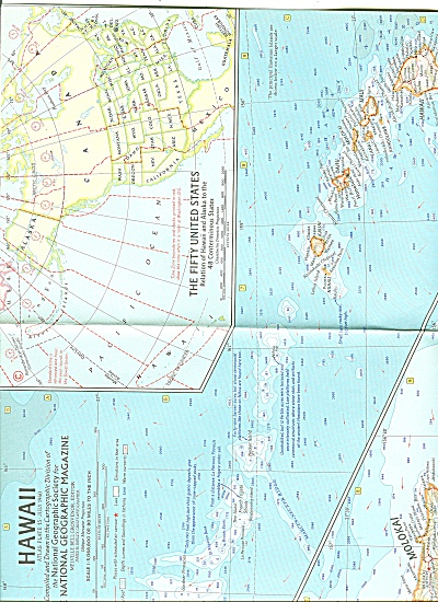 Hawaii Map - 1960 (Image1)