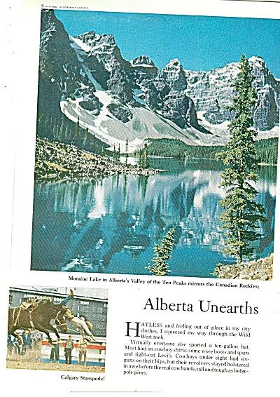 ALBERTA, CANADA  story 1960 (Image1)