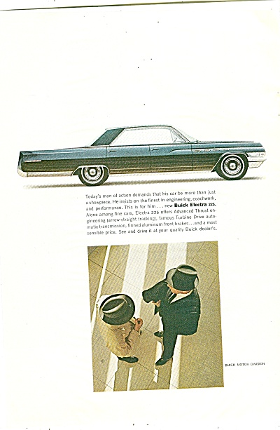 Buick Electra ad for 1963 (Image1)