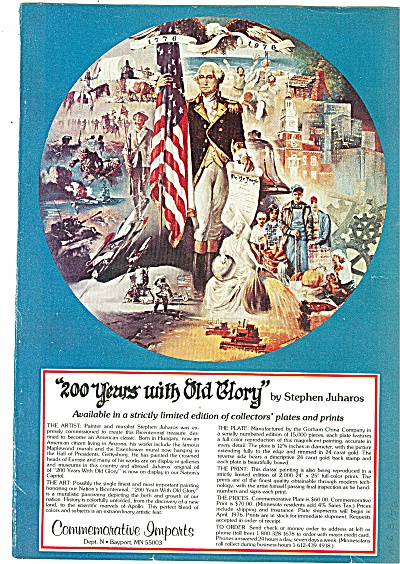 200 Years With Old Glory Ad