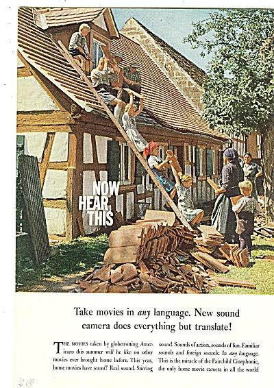 Fairchild Cinephonic ad 1960 (Image1)