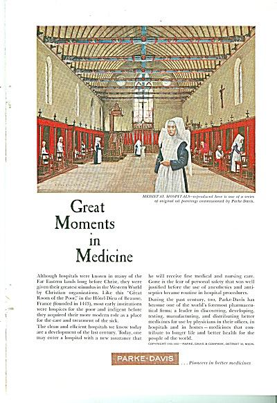 Parke-Davis medicine co., ad 1960 (Image1)