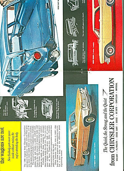 Chrysler Corporation autos ad 1960 (Image1)