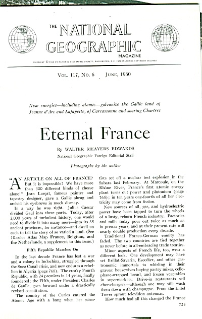 ETERNAL FRANCE  story - 1960 (Image1)
