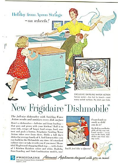 Frigidaire dishmobile ad 1960 (Image1)