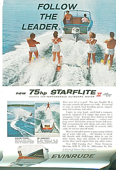 Evinrude outboard motor ad 1960 (Image1)