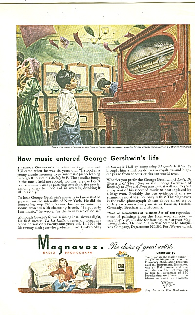 Magnavox radio ad 1944 (Image1)