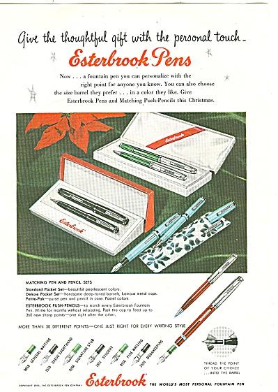 Esterbrook pens ad 1955 (Image1)