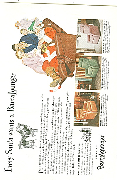 BarcaLounger ad 1955 (Image1)