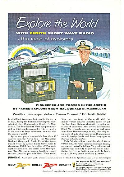 Zenith radios ad 1955 (Image1)