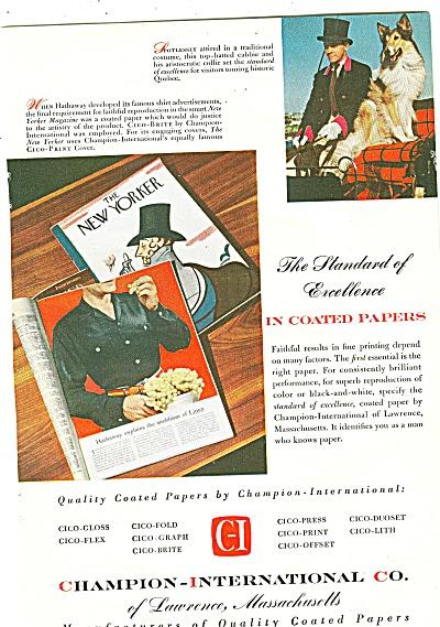 Champion-International Co. ad 1954 (Image1)