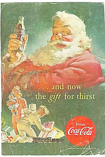 Coca Cola ad - Santa Claus - 1952 (Image1)