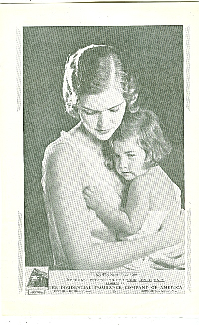 The Prudential Insurance Company of American 1933 MOM (Image1)