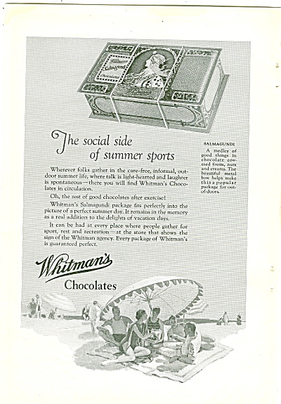 Whitman's Chocolates ad 1926 (Image1)