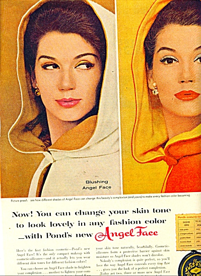 Angel Face from Pond's ad  1960 (Image1)