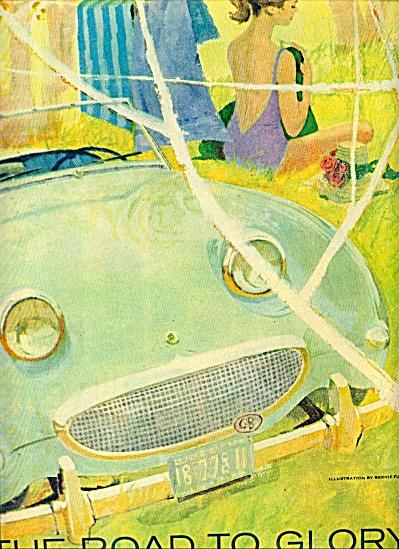 Artist sketch -  BERNIE FUCHS 1947 (Image1)