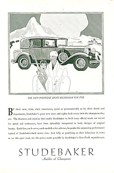 Studebaker auto ad 1929 (Image1)