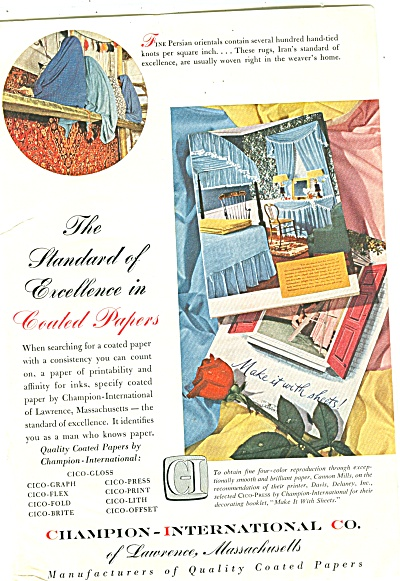 Champion-International Co - papers ad 1952 (Image1)