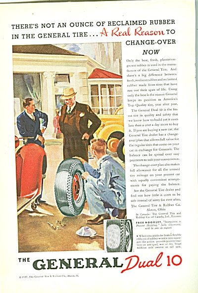 General  Dual 10 tires ad 1957 (Image1)