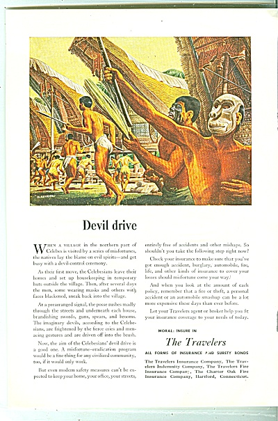 The Travelers Insurance ad 1947 (Image1)
