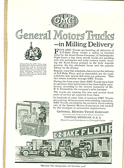 General Motor Trucks ad 1920 (Image1)