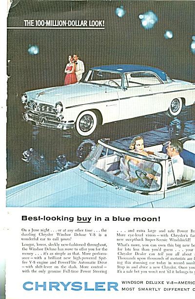 Chrysler Windsor auto ad 1955 (Image1)