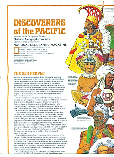 Map;; DISCOVERERS OF THE PACIFIC  - 1974 (Image1)