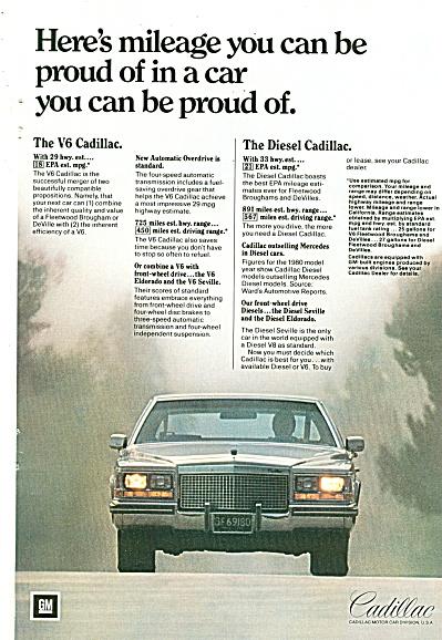 Cadillac auto ad 1981 (Image1)