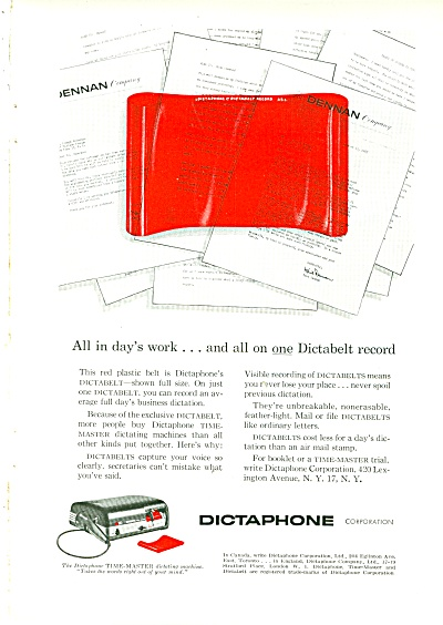Dictaphone ad 1956 (Image1)