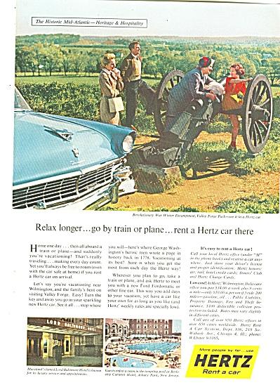 Hertz Rent a car adf 1956 (Image1)