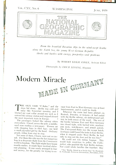 Modern Miracle - MADE IN GERMANY  - 1959 (Image1)