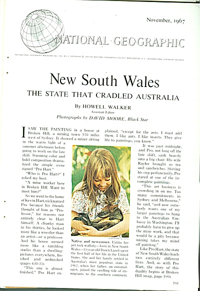 New South Wales - Australia 1967