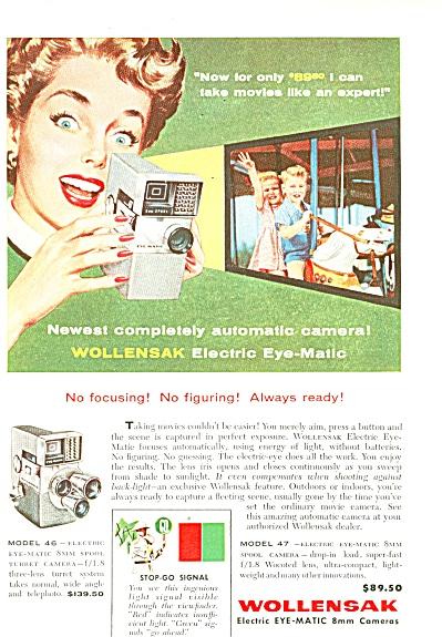 Wollensak cameras ad 1958 (Image1)