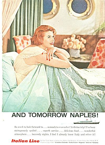 Italian Line ad 1958 (Image1)