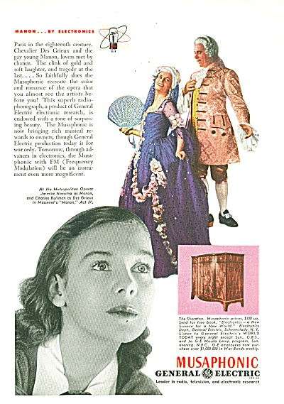 General Electric Musaphonic ad 1943 (Image1)