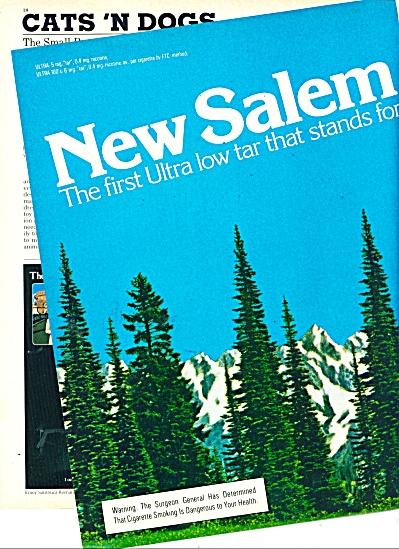 Salem cigarettes ad - 1980 (Image1)
