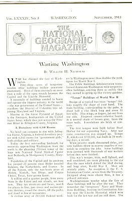Wartime Washington Story 1943