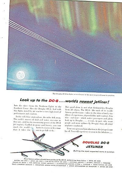 Douglas DC-8 Jetliner ad 1958 (Image1)