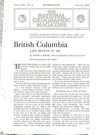 BRITISH  COLUMBIA  story 1958 (Image1)