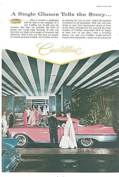 Cadillac automobile ad 1957 (Image1)