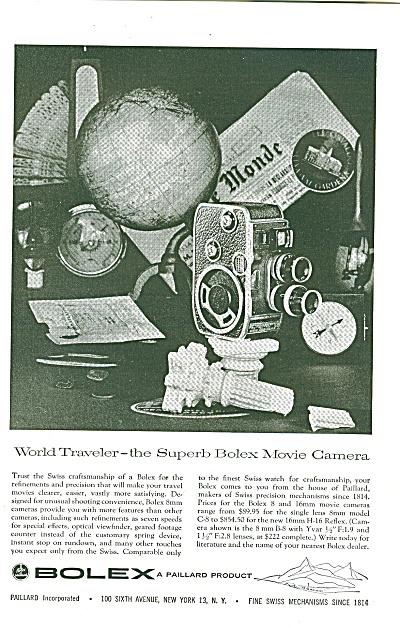 Bolex - a Paillard Product ad 1957 (Image1)
