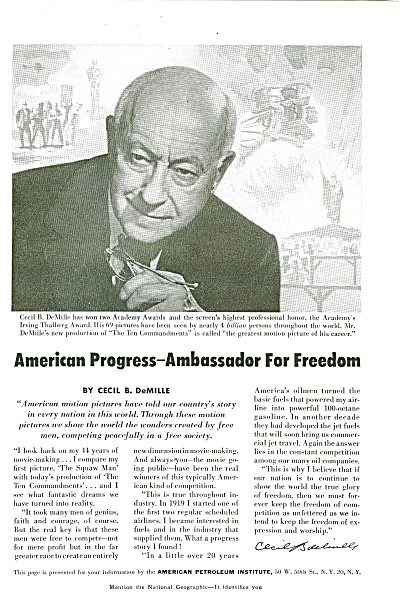 American Petroleum Institute - 1956