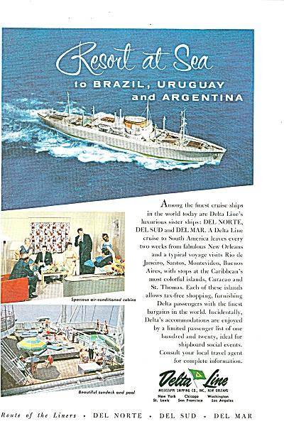 Delta Line ad 1957 (Image1)